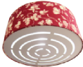 45cm Lampshade Diffuser Louvered